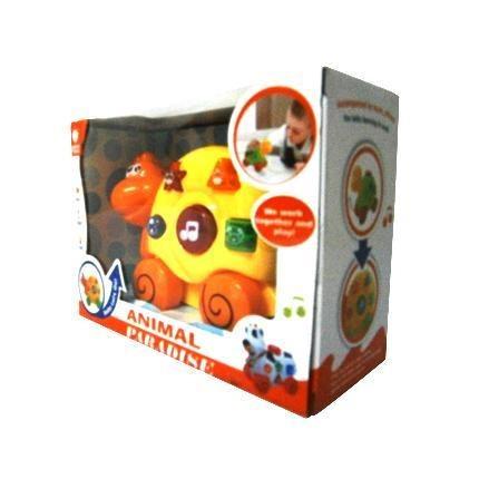 juguete caracol con ruedas