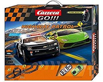 juguete carrera go !!! - conjunto de carreras patrulla de c