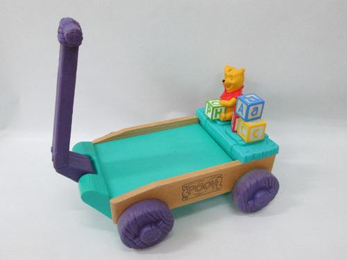 juguete carreta sonidos winnie the pooh