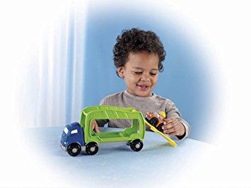 juguete carrie fisher-price little people wheelies de coche