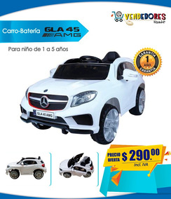 Juguete Batería Control Niño Mercedez Niña Carro Benz 80wOXnPkN