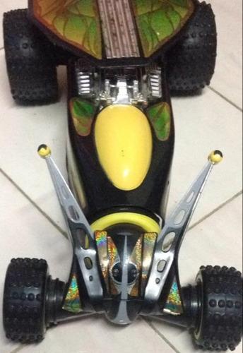 juguete carro control remoto insector súper led
