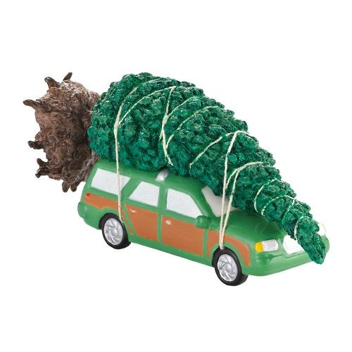 juguete carro department-56 verde