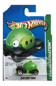 Angry Minion Hot Juguete De Coleccion Carro Wheels Pig Birds UMVGzqpS