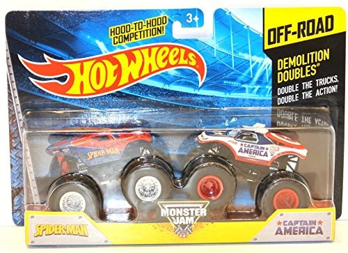 juguete carro hot wheels monster jam demolición de dobles s