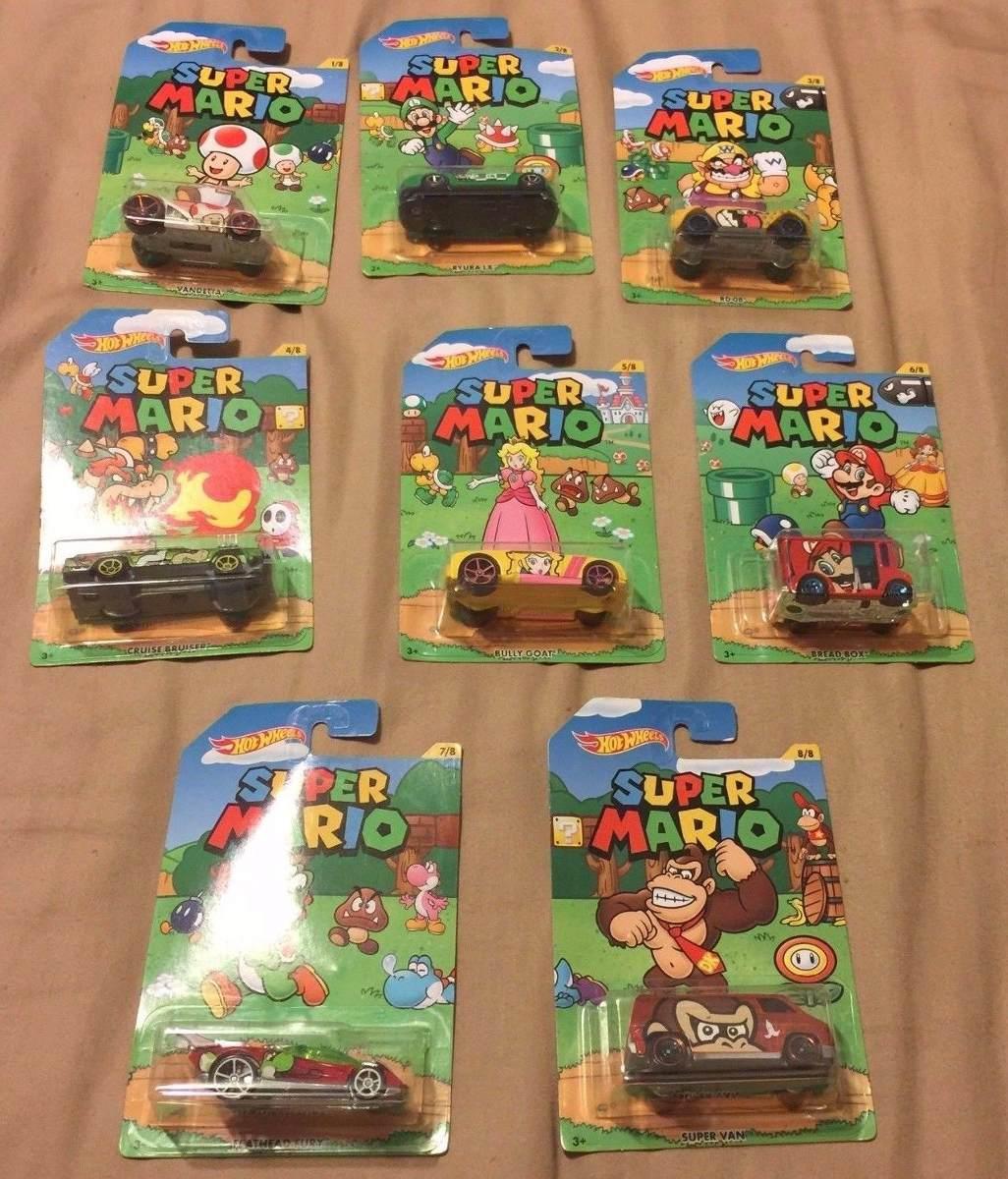 Juguete Super Carro Mario Hotwheels 30 Aniversario Lote Bros yg7fYb6