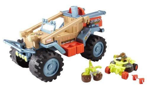 juguete carro matchbox dino aventura 4x4 multicolor