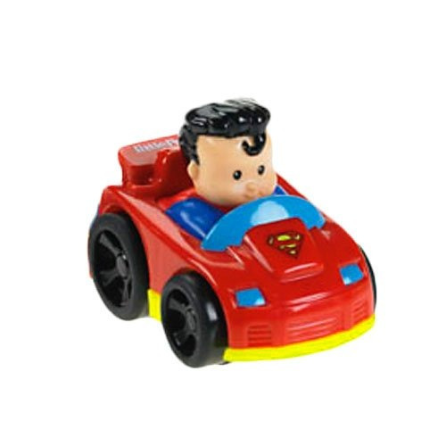 juguete carro superman fisher price rojo