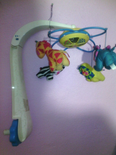 juguete carrusel móvil musical para cuna de bebes