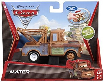 juguete cars 2 mater pullback racers