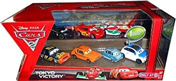 juguete cars de disney pixar 2 tokio victoria exclusivo set