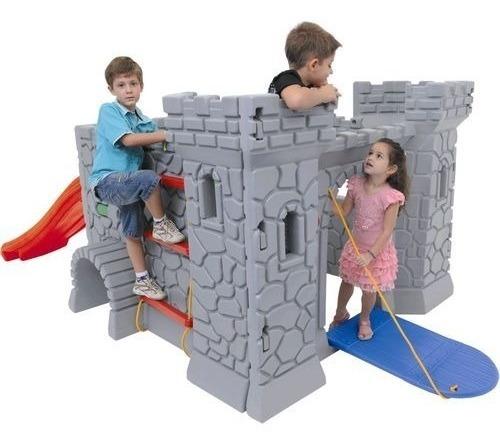juguete casa castillo tobogan medieval niño niña xalingo