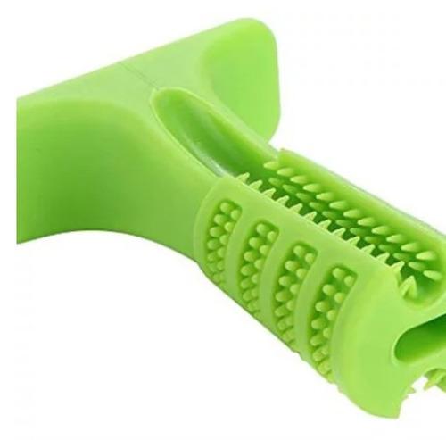 juguete cepillo de dientes p/ perros