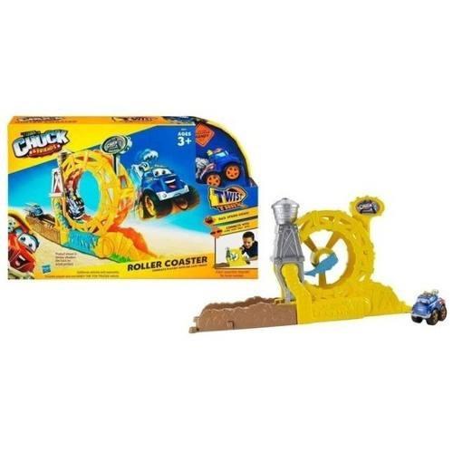 juguete chuck y sus amigos / montana rusa / handy el camion