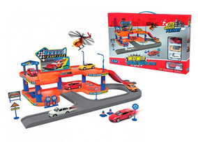 Play 96040 4 Pisos Babymovil Juguete 2 Garage Vehiculos City BoWdCxre