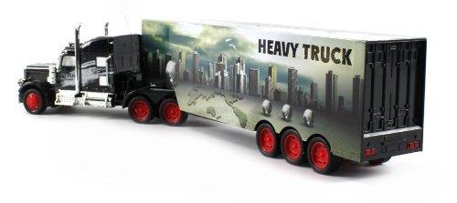 juguete ciudad pesada 12 semieléctrico rc camiones de carga