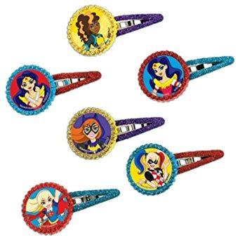 juguete clips de dc super hero pelo de las muchachas (12) c