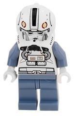 juguete clon piloto (traslado de palpatine) - lego star war