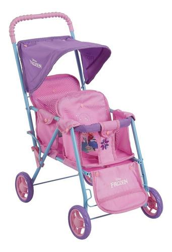 juguete coche doble muñeca bebe frozen disney babymovil 7411