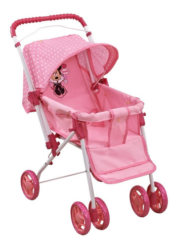 juguete coche muñeca revatible disney minnie  babymovil