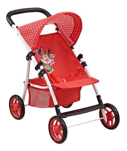juguete coche nena muñeca disney minnie babymovil d7428