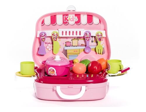 juguete cocina cocinita accesorios didáctico barato