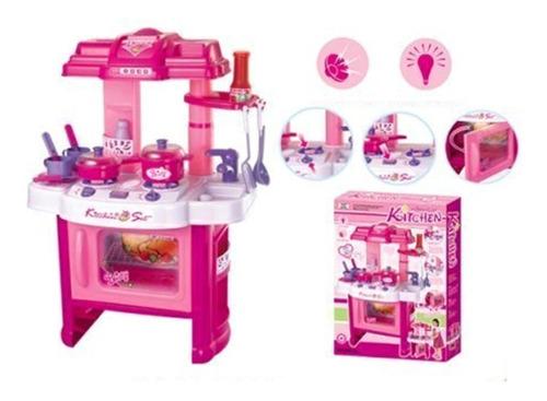 juguete cocina con luz y sonido y accesorios zippy babymovil