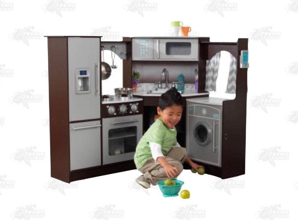 Juguete Cocina De Esquina Para Niños Kidkraft Xtreme P - $ 10,349.00 ...