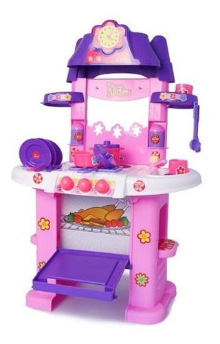 juguete cocina horno infantil niña didáctico luces sonido
