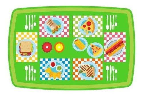 juguete cocina infantil didáctica niña ruedas jugar picnic