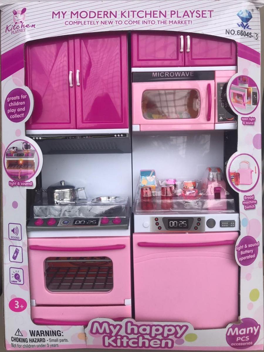 Juguete Cocina Niñas My Happy Kitchen Navidad Regalo Muebles