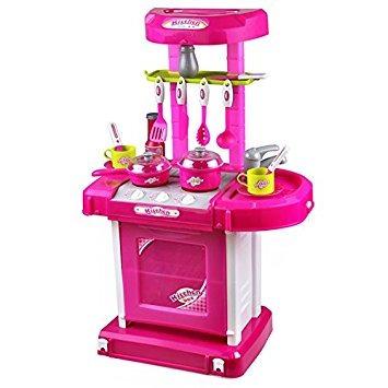 juguete cocina portátil para horno de cocina set de juegos