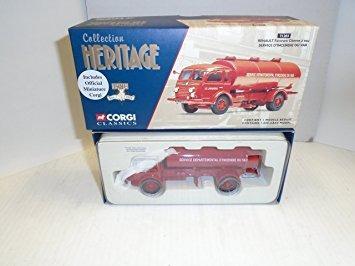 juguete colección heritage classic corgi 1/50 escala renaul