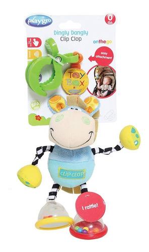 juguete colgante dingly dangly clip clop playgro