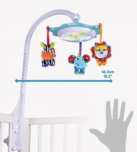 juguete colgante movil bebé músical  playgro