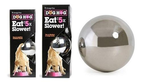 juguete come lento perro - dog hog - bola grande