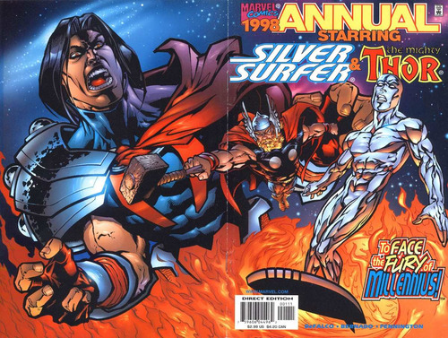 juguete comics thor 1, 2 annual '98  regular series