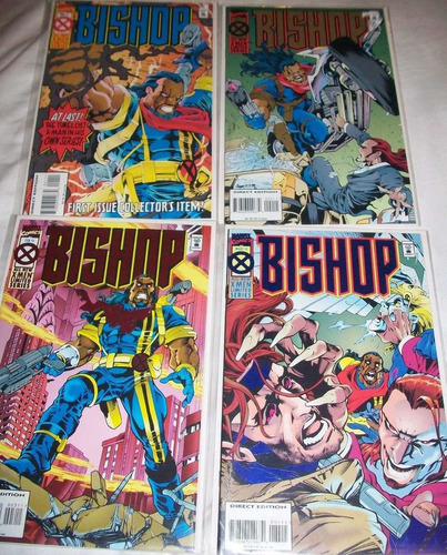 juguete comics x-men: bishop   4 ejemplares