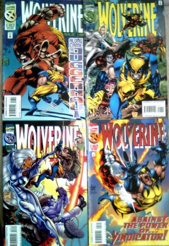 juguete comics x-men:wolverine set 12 ejemplares