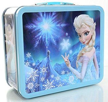 juguete congelado elsa carácter snow queen caja de almuerzo