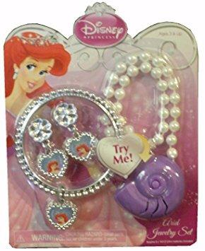 juguete conjunto de joyas princesa de disney ariel