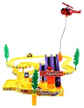 juguete corredor de la pista del coche