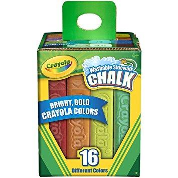 juguete crayola 16 contador de tiza de la acera