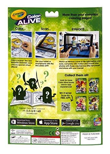 Juguete Crayola De Colores Vivos Animados Minions Páginas - $ 1.475 ...