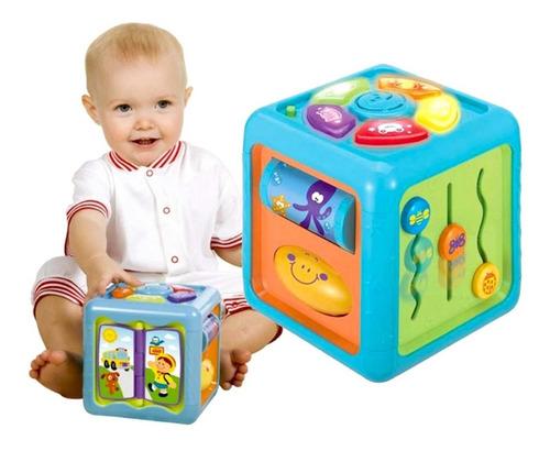 juguete cubo  musical didáctico - unidad a $99900