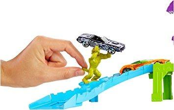 juguete curva límite de pista de hot wheels deadman