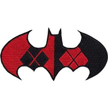 juguete dc comics (batman) harley quinn negro / rojo del lo