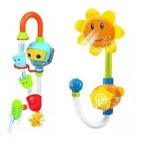 juguete de baño bebe lanza agua buzo o tortuga o flor love