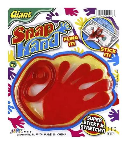 juguete de broma mano pegaloco gigante / ringastore