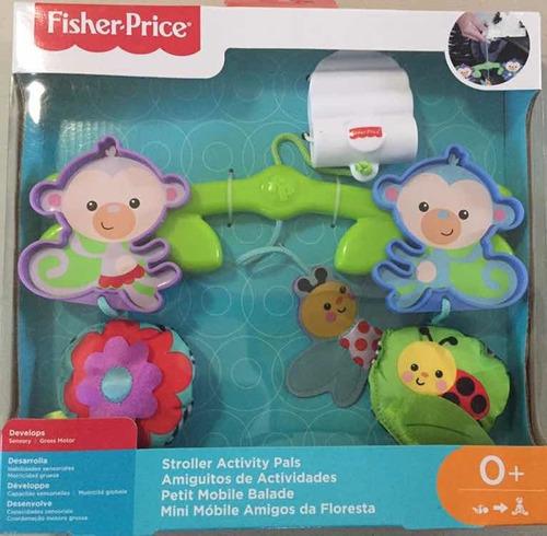 juguete de carriola amiguitos de actividades de fisher price